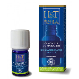 Huiles essentielles - Camomille du Maroc Bio H&T