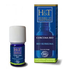 Huiles essentielles Curcuma Bio H&T