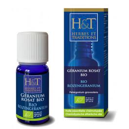 Huile essentielle de Géranium rosat d'Egypte Bio