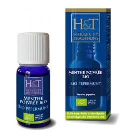 Huiles essentielles - Menthe poivrée Bio H&T