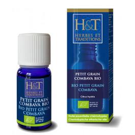 Huiles essentielles Petit grain combava Bio H&T
