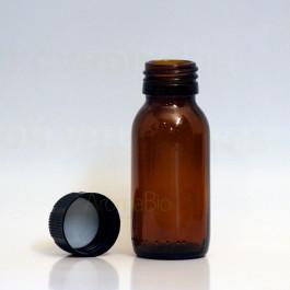 Flacon verre 60 ml ouvert