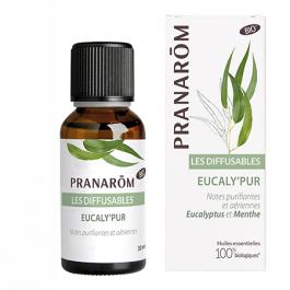 Synergie d'huiles essentielles pour diffuseur à l'eucalyptus