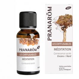 Synergie pour diffuseur d'huiles essentielles méditation