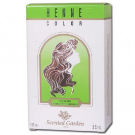 Poudre colorante au Henné Châtain